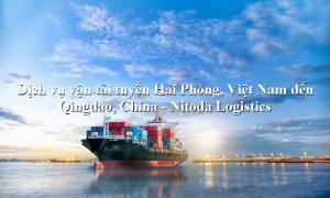 Dịch vụ vận chuyển uy tín tuyến Hải Phòng, Việt Nam đến Qingdao, China