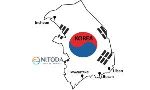 Danh sách các cảng biển tại  Korea (Hàn Quốc)