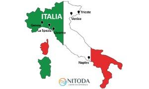 Danh sách cảng biển tại Ý (Italia)