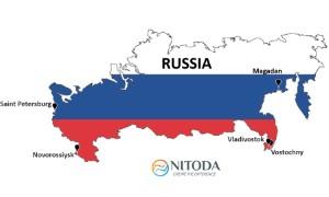Danh sách các cảng biển tại Nga (Russia)