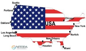 Danh sách các cảng biển tại USA (Mỹ)