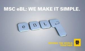 MSC triển khai vận đơn điện tử (electronic bill of lading) toàn cầu