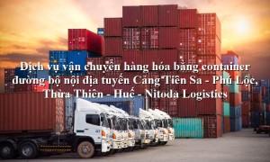 Dịch vụ vận tải từ Cảng Tiên Sa - Phú Lộc, Thừa Thiên - Huế
